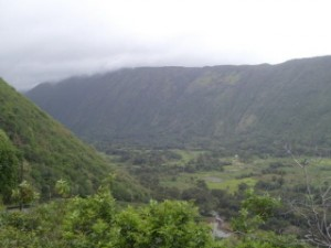 Waipio Valley on the Big Island, Hawaii.