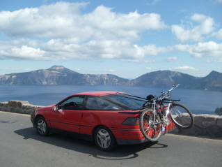 My Ford Probe I drove 17,000 miles around the USA