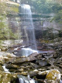 Rainbow Falls in Gatlinburg, TN